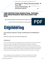 [9] Website FPS Inspection and Testing - Maintenance