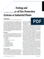 [7] Study - Industrial Plants Fire Protection System - Maintenance and Importance