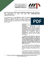 14 23-22-645 Jurisprudência Do STJ à Luz Da Lei de Improbidade Administrativa (1)