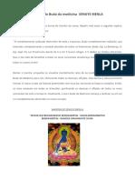 Prática Do Buda Da Medicina SENGYE MENLA