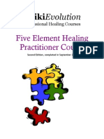 5 Element Healing Practitioner Course 2nd Manual