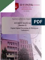 FDSP&P Lab Student Manual