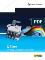 c Line Changeover Switches Catalogue