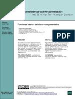 Morado Funciones(2013)  Básicas Del Discurso Argumentativo