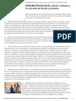 (1) ACTIVIDADES SENSORIOMOTRICES en EL AULA_ Criterios y Pautas Para El Maestro de Aula de Inicial y Primaria