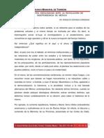 LAS CORRIENTES IDEOLÓGICAS ANTE LA  REVOLUCIÓN DE INDEPENDENCIA DE MÉXICO