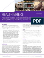 HEALTH BRIEFS - 2018 - Queens Mapping Report