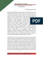 LOS SUSTRATOS IDEOLÓGICOS DE LA REVOLUCIÓN DE INDEPENDENCIA