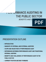Pefromance Auditing
