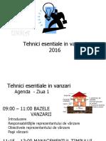 Curs de Vanzari 2016