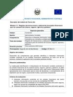 Modulo 3.1 - BACHILLERATO TÉCNICO VOCACIONAL ADMINISTRATIVO CONTABLE