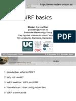 WRF basics