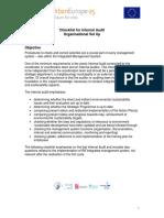 Checklist Organisational Set Up