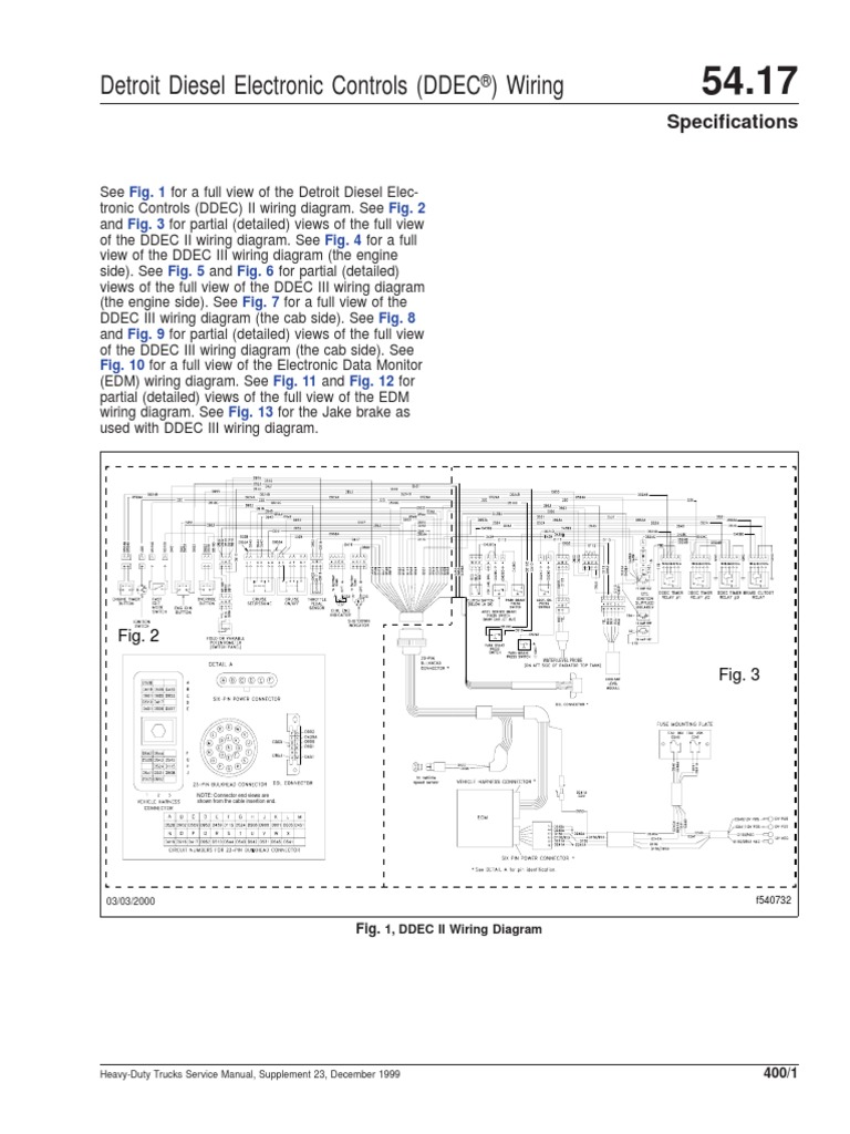 ddec ii wiring diagram 96596413 ddec ii and iii wiring diagrams pdf truck commercial  ddec ii and iii wiring diagrams pdf