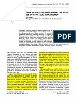 Mintzberg 1990 Strategic Management Journal