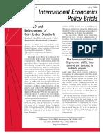 The ILO an Enforcement of Core Labor Standards.pdf