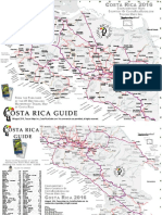 Costa Rica Guide Printable Map