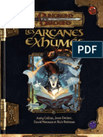 Les Arcanes Exhumées D&D 3.5