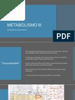 8. Metabolismo III