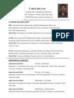 Arul PhD Curriculum Vitae Updated 2.4.2018