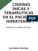 Libro03 - Decisiones Cl. y t. en El p. Hipertenso