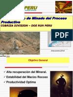 Planeamiento de Minado Del Proceso Productivo Mina Cobriza ULTIMO