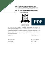 Certificate Bibin