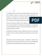 Informe de Ladrillos Estructuras