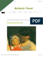 O Desenvolvimento da Criança Cega - Maria Eduarda Dias