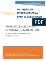 Proyecto Curriculo