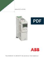 ABB ACS850 Drive Modules