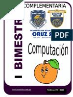 Inicial Naranjitas Computacion - I Bimestre 2014