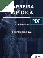 lei de tortura com questões do cespe