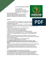 AMISOM evaluates its transition plan for Somalia