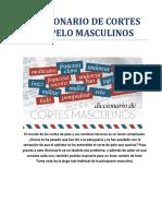 Diccionario de Cortes de Pelo Masculinos