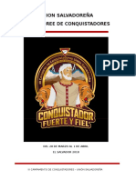 Manual de 3 Camporee Conquistadores 2018