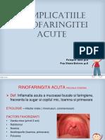 Complicatiile Rinofaringitei Acute (1)