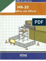 Cartilha de Segurança Do Trabalho Em Altura NR-35