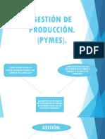 Gestión de Producción
