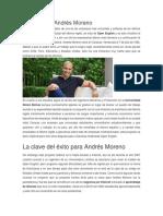 Biografía de Andrés Moreno