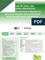 Manual de Buen Uso Del Correo Electronico