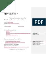 tec-595 t3  pd lesson plan template