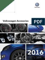 2016 Vw Accesorios