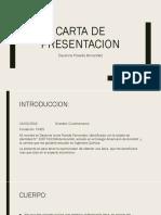 Carta de Presentacion Dayanne