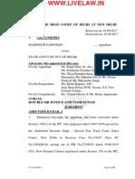 Delhi High Court Mahmud Farooqi