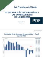 Eduardo Montes_El Sector Eléctrico Español y las Consecuencias de la Reforma.pdf