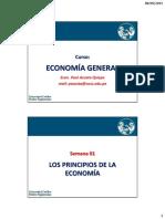 Semana 01 (2015) - Economía y La FPP