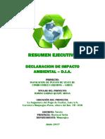 Resumen Ejecutivo DIA Grifo Pampa Cuellar