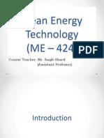 Energy - (ME - 424)