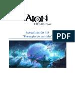 AION 4 9v Patch Notes ES 24022016